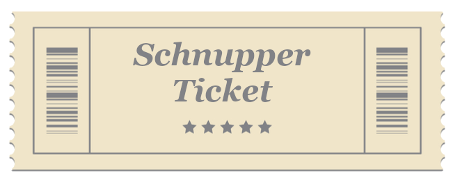 Schnupper Ticket